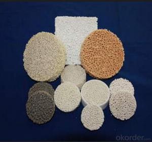 Silicon Carbide Ceramic Foam Filter for Precision Casting Filter