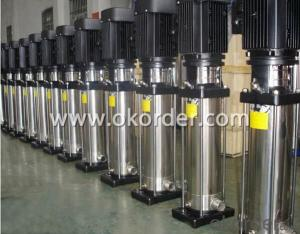 Stainless Steel Centrifugal Booster Water Pump