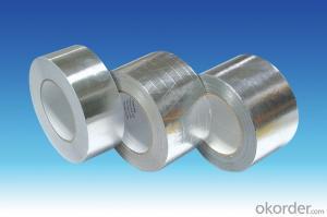 HAVC Solvent Insulation Self Adhesive Repair Roofing Aluminum Foil Tape