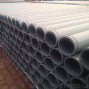 Seamless Concrete Delivery Pipe with Weld Flange End