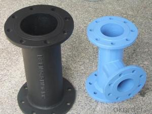 Duct Iron Pipe DI Pipe Flange Pipe with Cast ISO 2531 EN545
