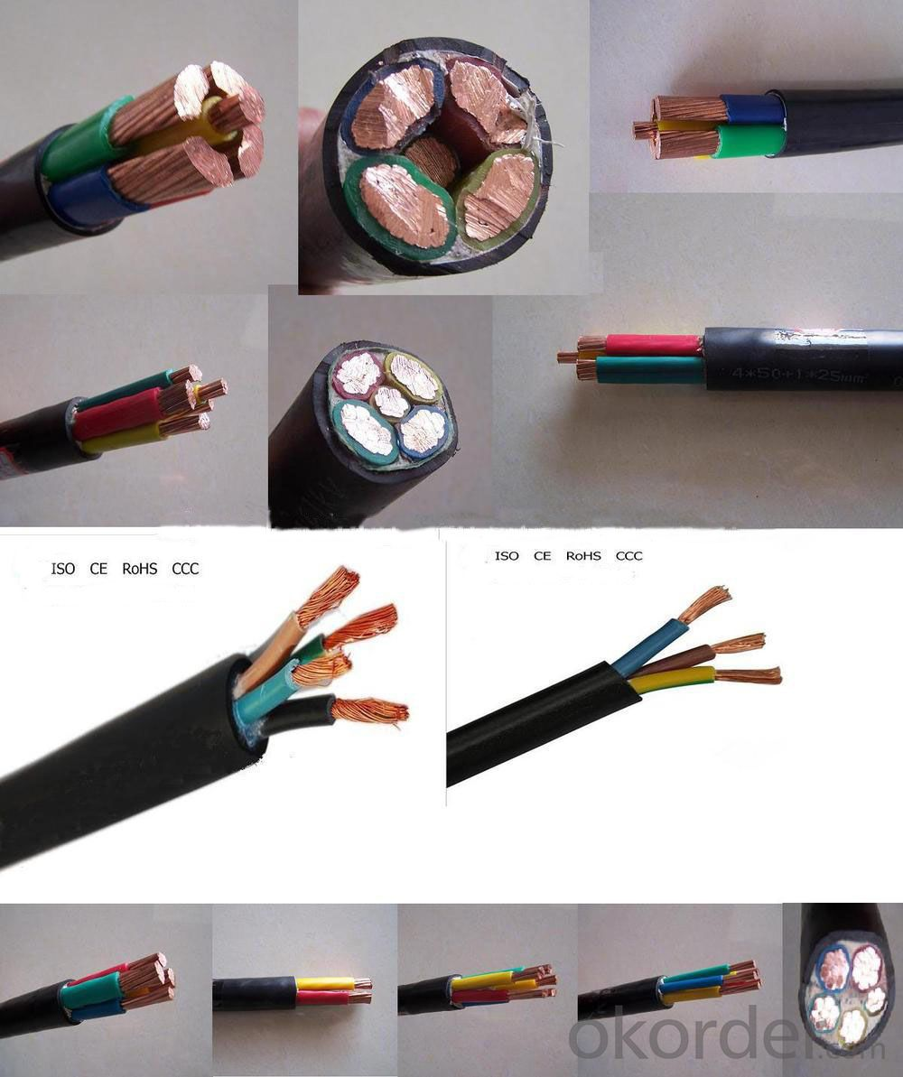 Aluminum / copper conductor XLPE insulated steel tape armoured PVC sheathed power cable