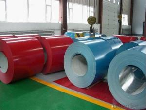 Color Coated Galvanized Corrugated Steel Sheets