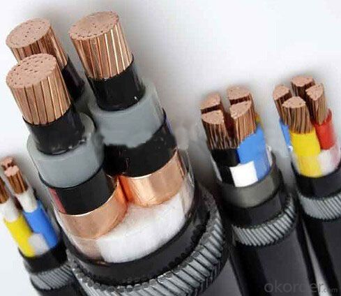 Flexible Pure Copper rubber insulated rubber sheathed power cable