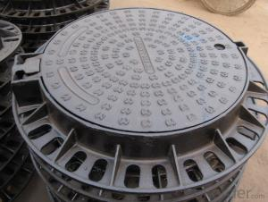 Manhole Cover Ductule Iron B125 Bitmen Coating