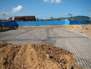 Fiberglass geogrid for Road - High quality geogrid