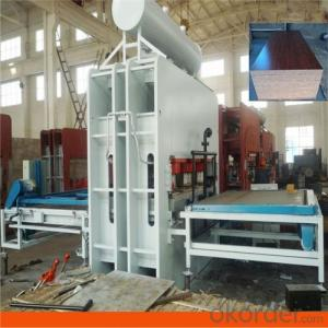 1600t Machinery Melamine for Furniture Board