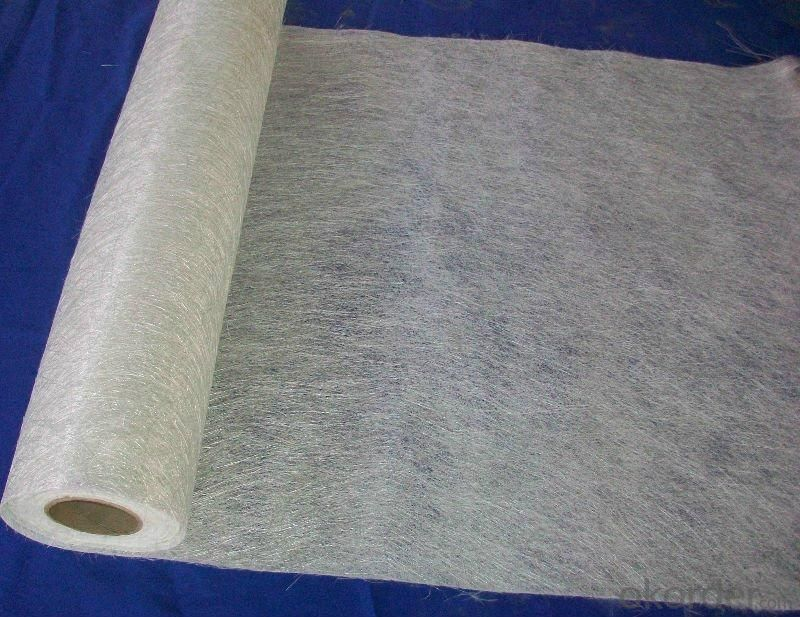 E Glass Fiber Surface Tissue Mat  For FRP Products