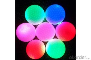 LED Golf Ball Flashing Golf Ball Gift