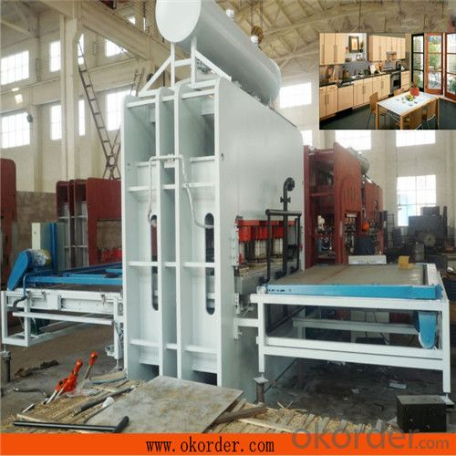 1600T Short Cycle Laminating Press Machine for Plywood