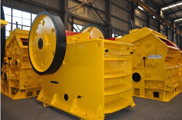 China HJ Series High Efficiency Jaw Crusher