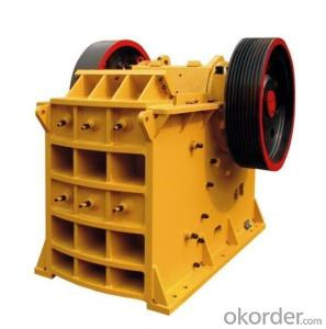 Convenient Maintenance High-Efficiency Ore Jaw Crusher Good Reputation