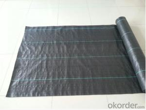 PP Woven Geotextile for Anti Weed and Garden Use