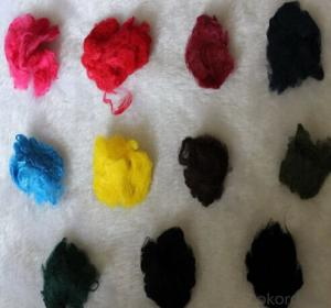 PET Staple Fiber for Nonwoven Fabric Different Color