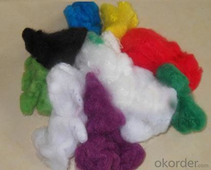 PET Staple Fiber, Hollow or Solid for Spinning