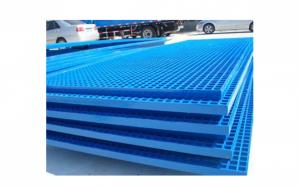 High Strength, Corrosion Resistant/ Fire Resistant For  Walkway, Trench Cover Fiberglass Grating