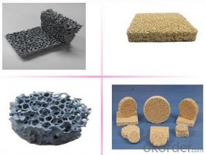 Ceramic Foam Filter for Precision Casting Filter SiC Content