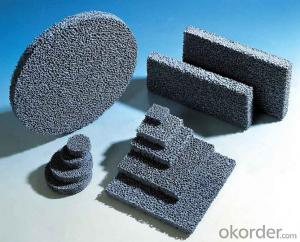 Silicon Carbide Foam Ceramic Filter for Iron Alloy Casting