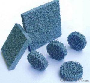 Silicon Carbide Ceramic Foam Filter for Foundry Cast