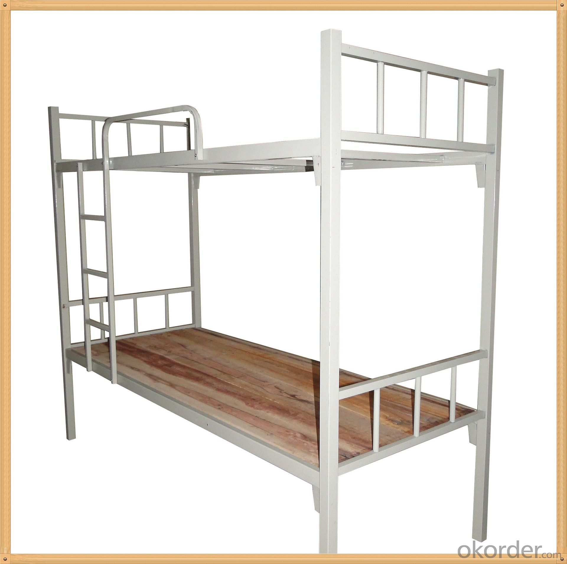 Metal Bunk Bed with Bottom Locker,Hot Sale