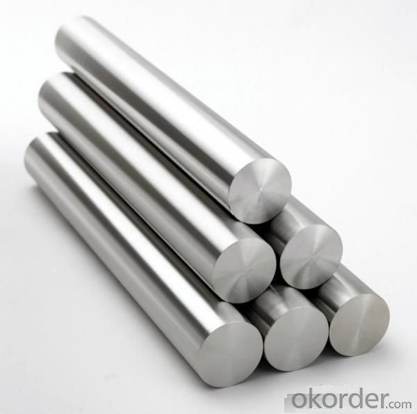 Grade 201 Stainless Steel Round Bar Large Quantity in Stock