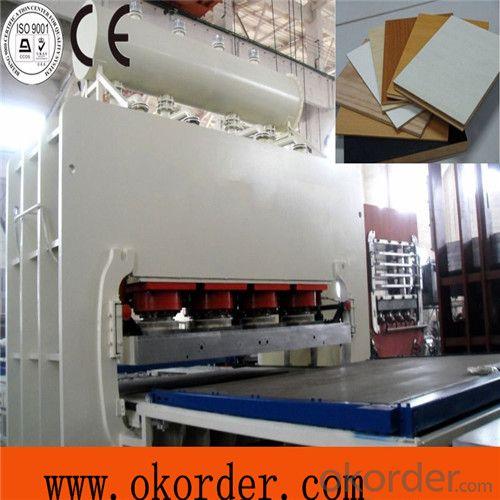 1200T Furniture Board Press Machiney Melamine