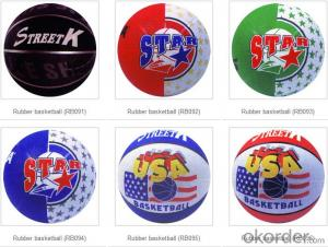 High Quality Offical Size 7 PU basketball