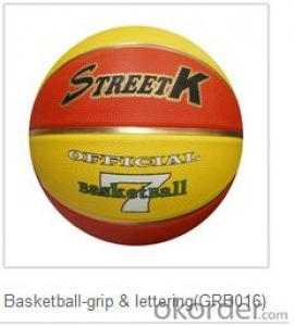 New arrival Durable PVC Customized basketball
