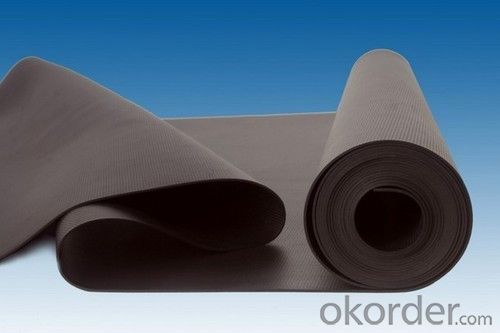 EPDM Coiled Rubber Waterproof Membrane with 1.5mm Thickness