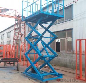 Hydraulic Mobile Scaffolding Platform/ Scaffolding System Scissor Lift from CHIAN CNBM !!!