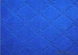 Single Color Polyester Velour Jacquard Carpet
