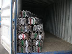 Hot Rolled Equal Angle steel with grade A quality