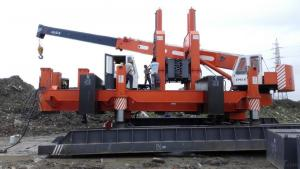 ZYC series ZYC320B multi-functional Hydraulic Static Pile Driver