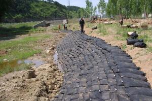 Geotextile Bags for River Sand Protection