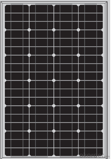 Mono Module 60W 65W Grade A Panels 25 years warranty