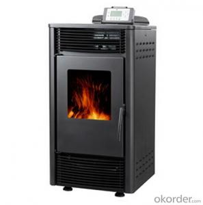 Pellet Stove Carbon steel Output 8KW-10KW High Temperature Resistant