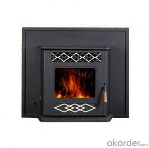 Pellet Stove Carbon steel  High Temperature Resistant Room Heating Capacity: 120-250 m³
