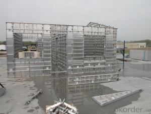 WHOLE ALUMINUM FORMWORK SYSTEM IN CHINESE MARKET