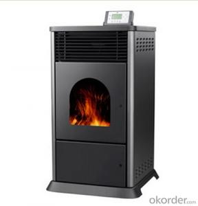 Pellet Stove Carbon steel 3 Sides Glass View High Temperature Resistant
