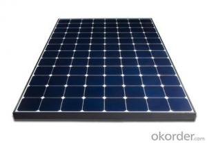65W CNBM Monocrystalline Silicon Panel for Home Using