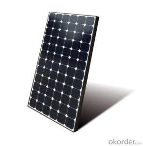 50W CNBM Monocrystalline Silicon Panel for Home Using