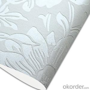 Glass Beads Wallpaper Hot Selling Embossed Design Wallpaper
