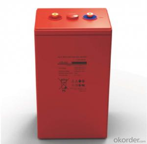 Battery Solar Wind Power System High Temperature 2V 1200AH
