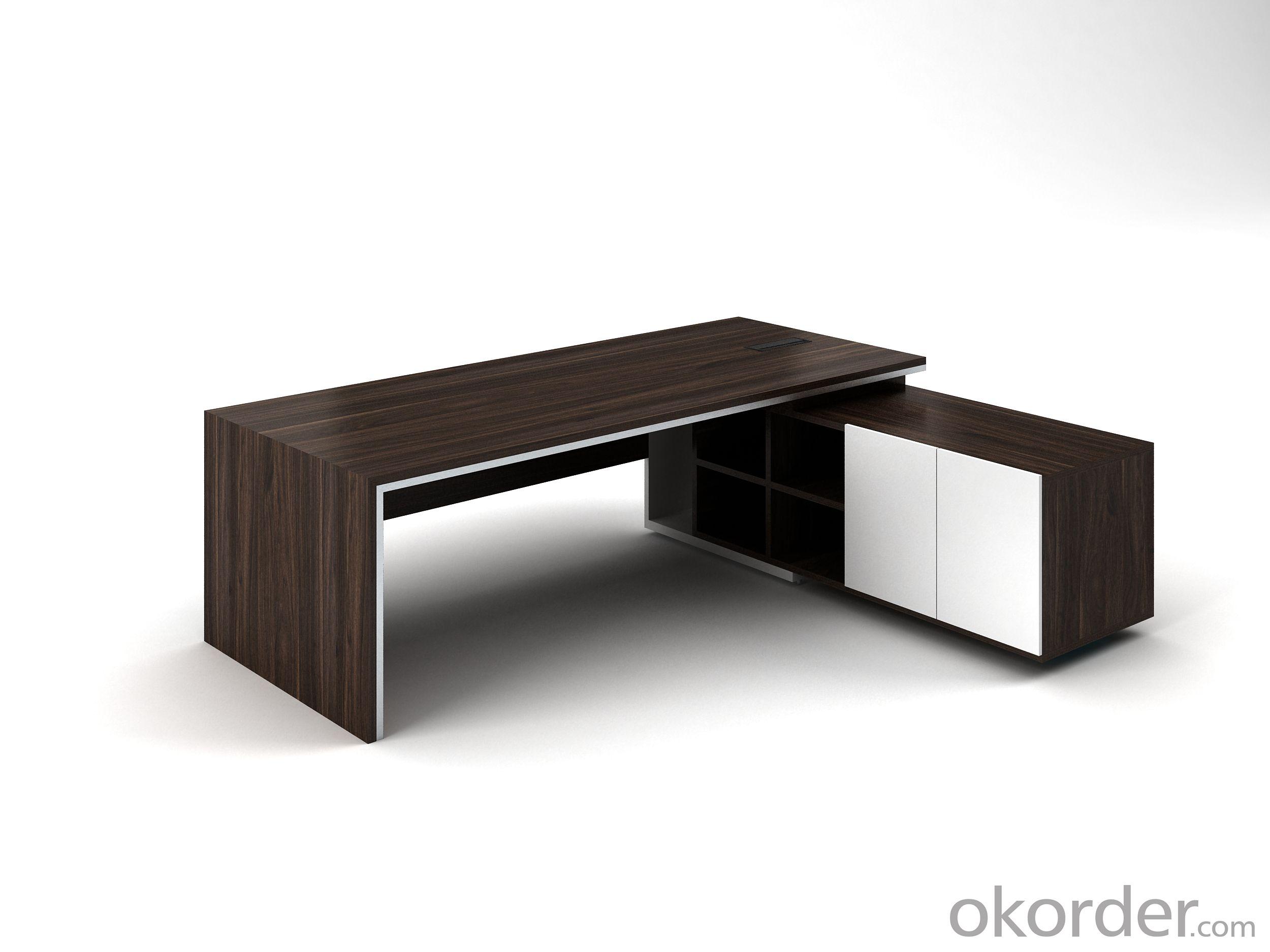 Office Furniture Oak Veneer Wood Table