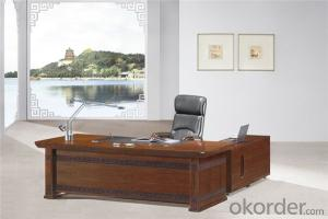Commercial Executive Desk with Vaneer Painting