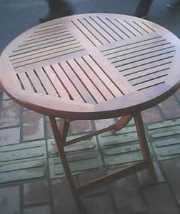 Outdoor Furniture Patio Wood Garden Furniture Plastic Wood Table