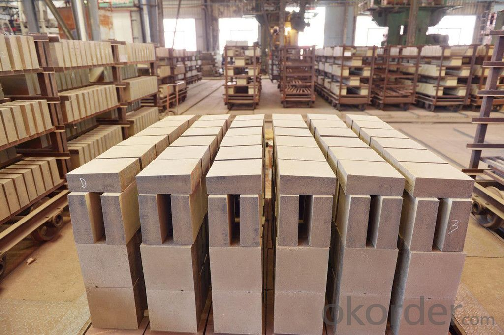 High Compressive Strength Corundum Refractory Bricks