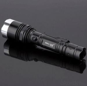 Portable Clip Flashlight Cree T6 LED Bulb Aluminum Reflector 5 Modes 1x18650 Batt Middle Switch