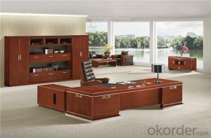 Vaneer Office Executive Desk with Environmental Material
