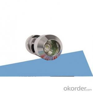 A640 gem XRE Q3 Led Bulb 1x18650 Batt Middle Switch Single Mode Aluminum Alloy Flashlight